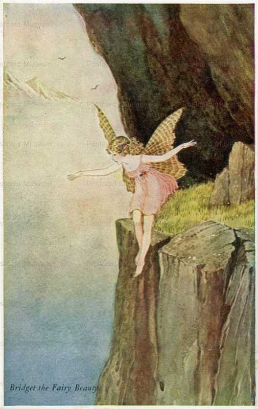 fo180-Ida Rentoul Outhwaite Bridget the Fairy Beauty