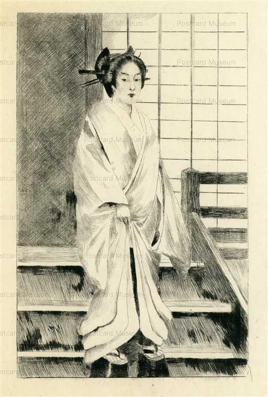 jp711-Bigot Japanese Geisha