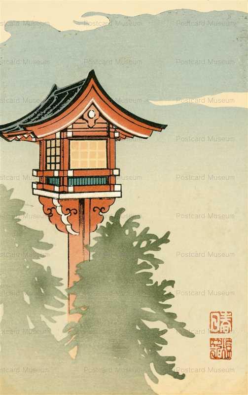 kfg951-月春日燈籠 趣味古光
