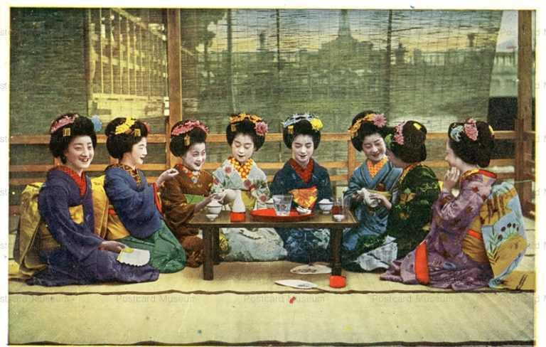 mc010-舞妓八人 茶話