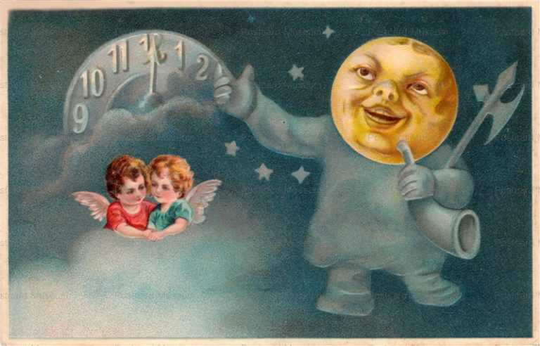 mn002-Angel & Moon