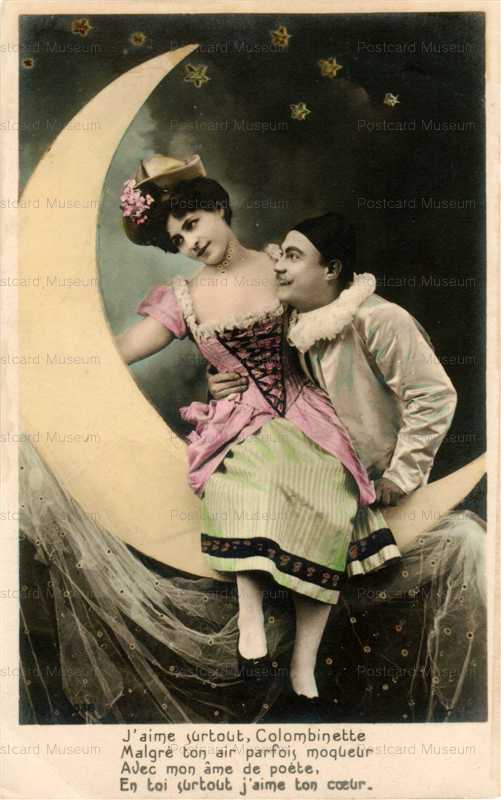 mn004-Pierrot and Woman