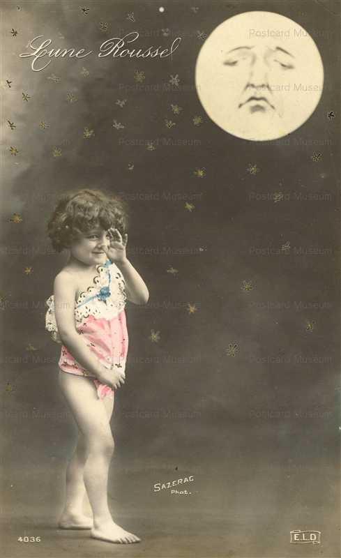 mn050-Lune Roussel Astronomy Full Moon Child Fantasy ELD