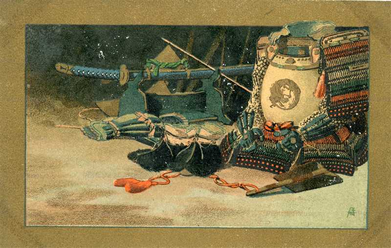 mr038-甲冑と刀