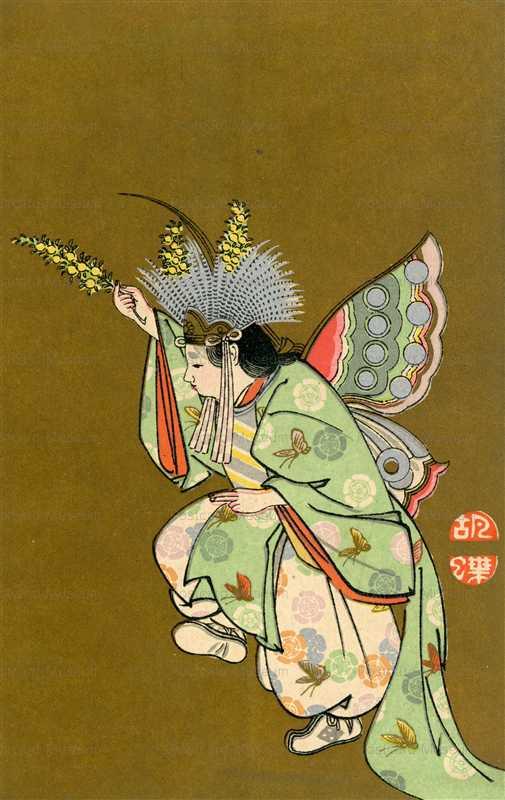 mr072-雅楽の舞 胡蝶
