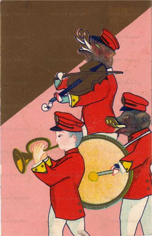 nbz030-boar band 猪バンド