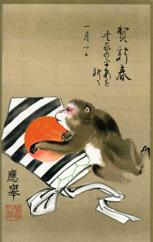 ng418-新年猿図