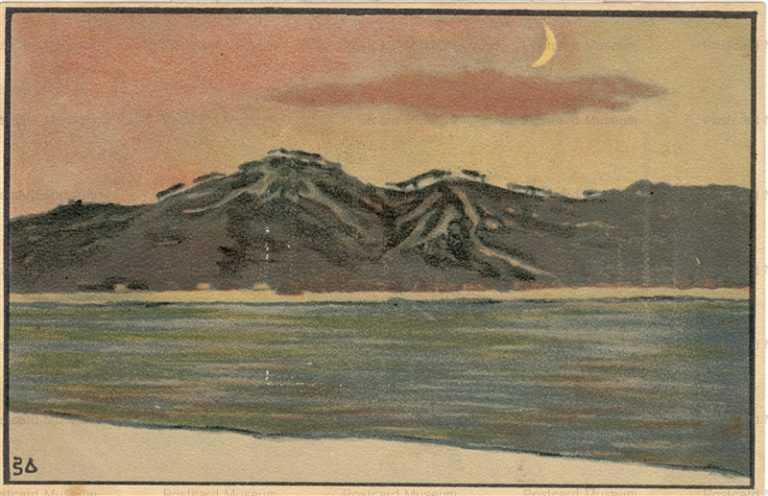 nh060-中澤弘光 月と山