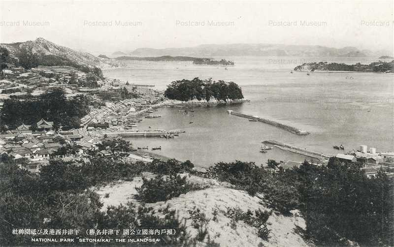ok1262-Shimotsui Port Gion shrine National Park Setonaikai 下津井西港 祇園神社 瀬戸内海國立公園