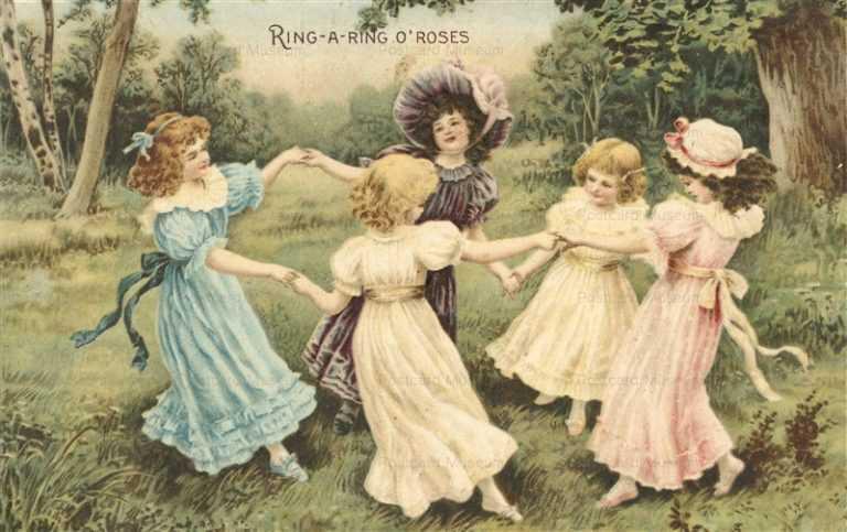 qb100-Ring a Ring O'roses Dance