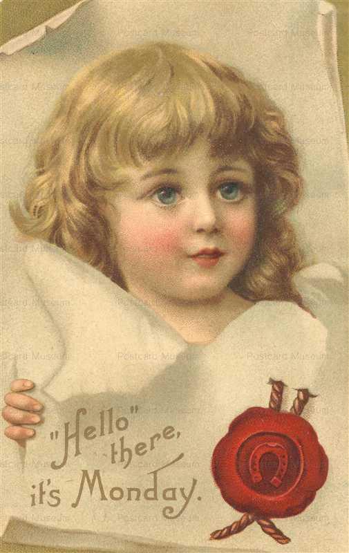 qb560-Hello there it's Monday Art Nouveau Girl
