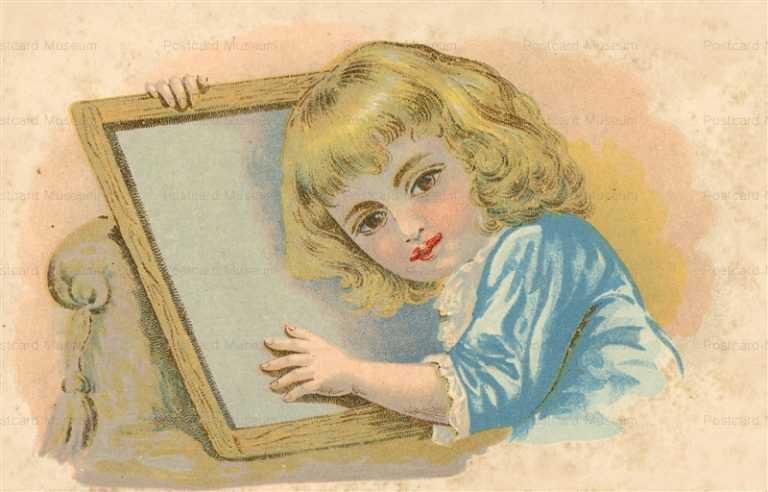 qb620-Girl with Mirror