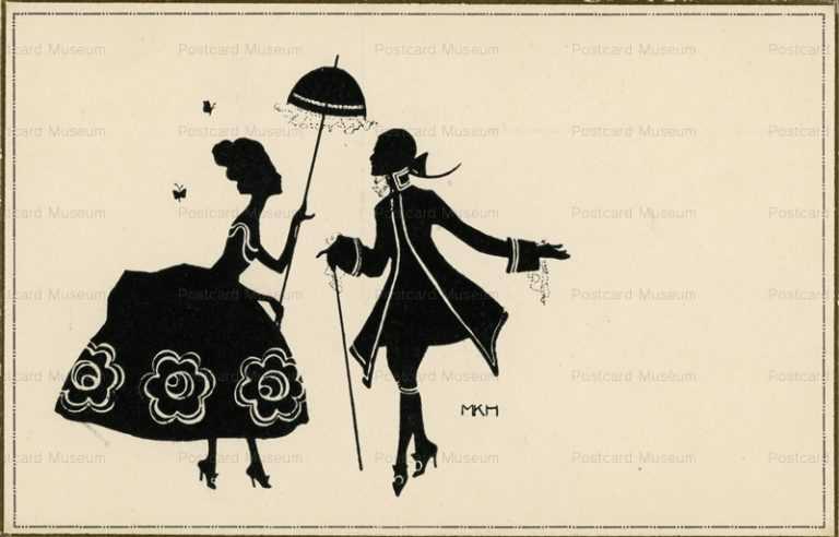 sib095-Silhouette Couple Aristocrat MKH