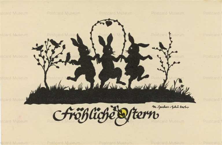 sib505-Dancing 3 Rabbits