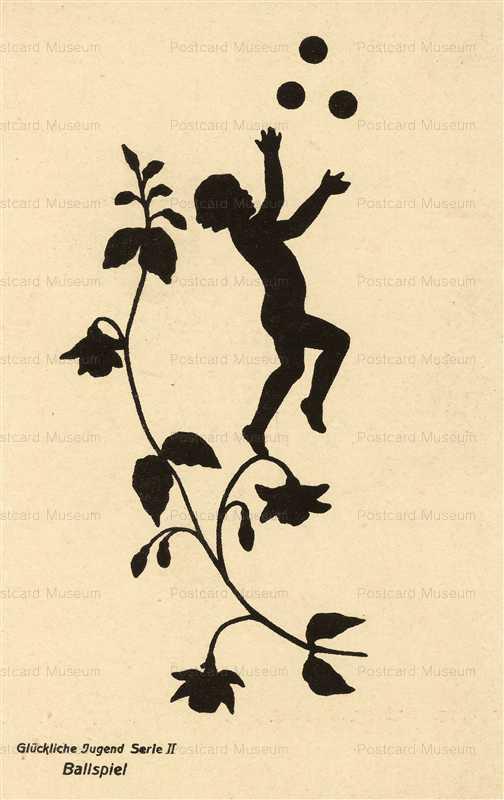 sib547-Silhouette Juggling Fairy Artist