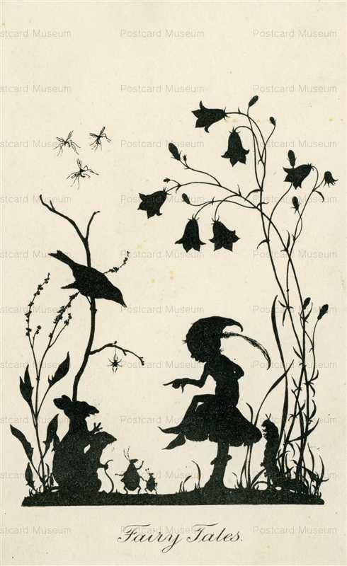 sib552-Fairy Tales Silhouette Series
