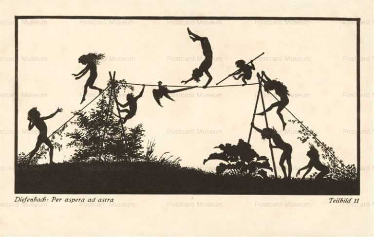 sib563-Play Rope Dancer Silhouette