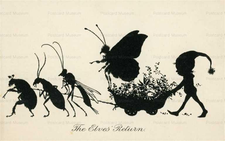 sib577-The Elves Return Silhouette Series