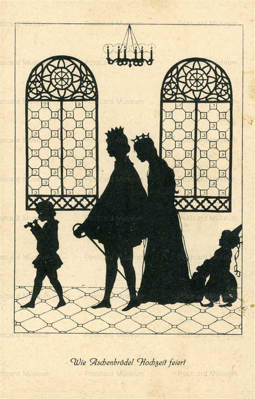 sib585-Royal Wedding Silhouette