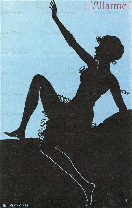 sic280-Bianchi L'Allarmel Silhouette Lingerie