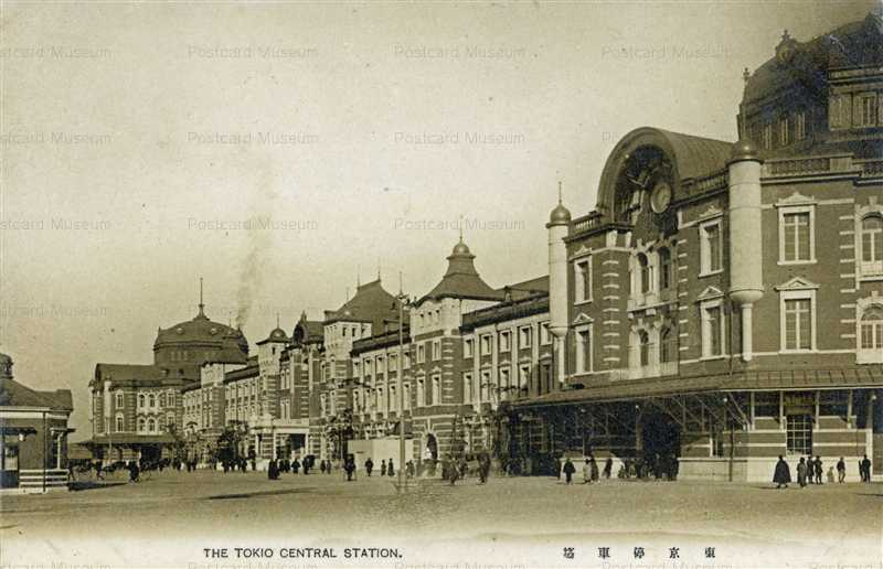 tsb012-Tokyo Station 東停車場