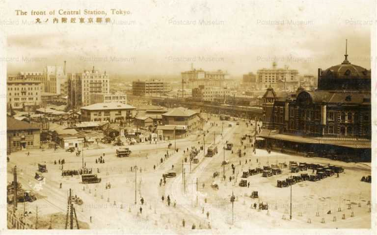 tsb025-Marunouchi Tokyo Station 丸ノ内附近 東京駅前