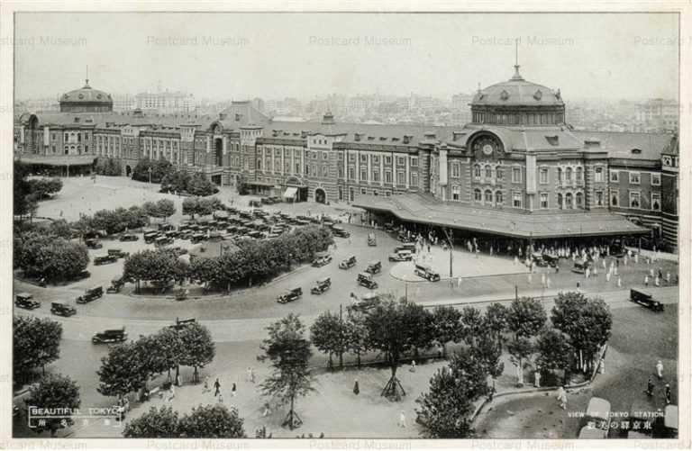 tsb040-View of Tokyo Station 東京駅の美観