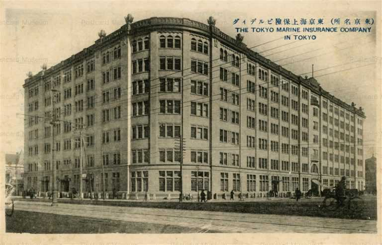 tsb355-Tokyo Marine Insurance Company Tokyo 東京海上保険ビルディング 東京名所