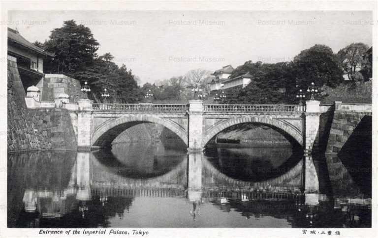 tsb450-Nijubashi Entrance of Imperial Palace,Tokyo 宮城二重橋