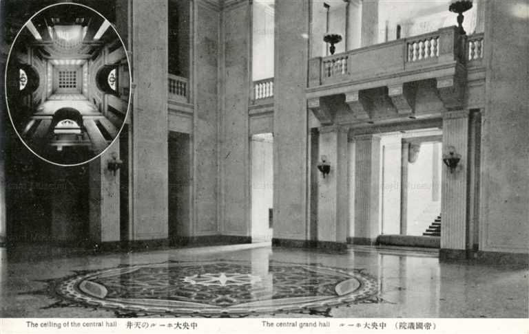 tsb660-Central Grand Hall 帝国議院 中央大ホール 天井