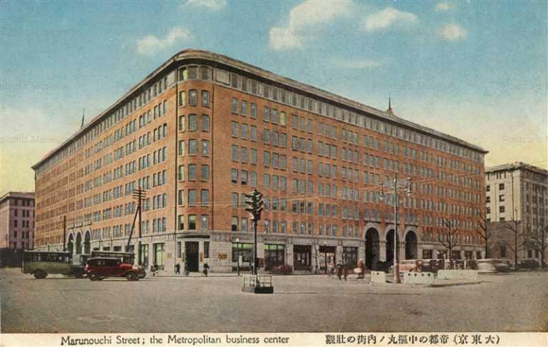tsc330-Marunouchi Street Metropolitan Business Center 帝都の中枢丸ノ内街の壮観 大東京