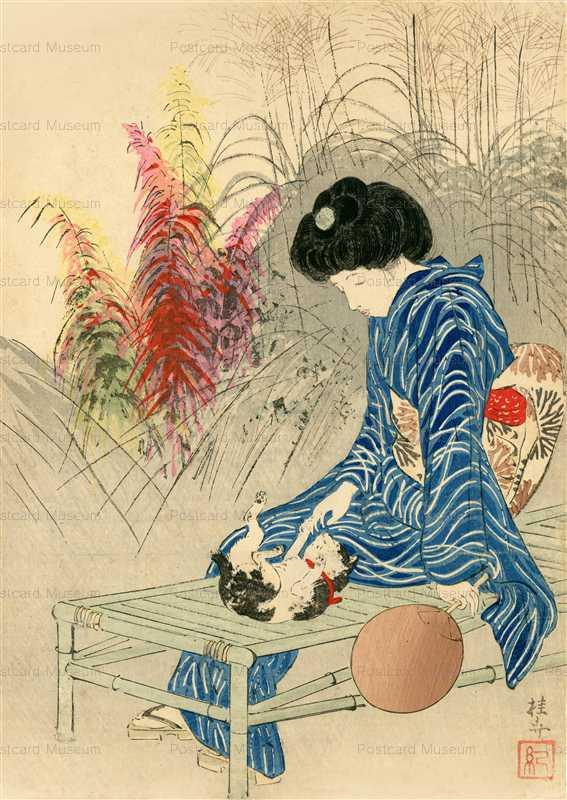 uzo550-武内桂舟 猫と女
