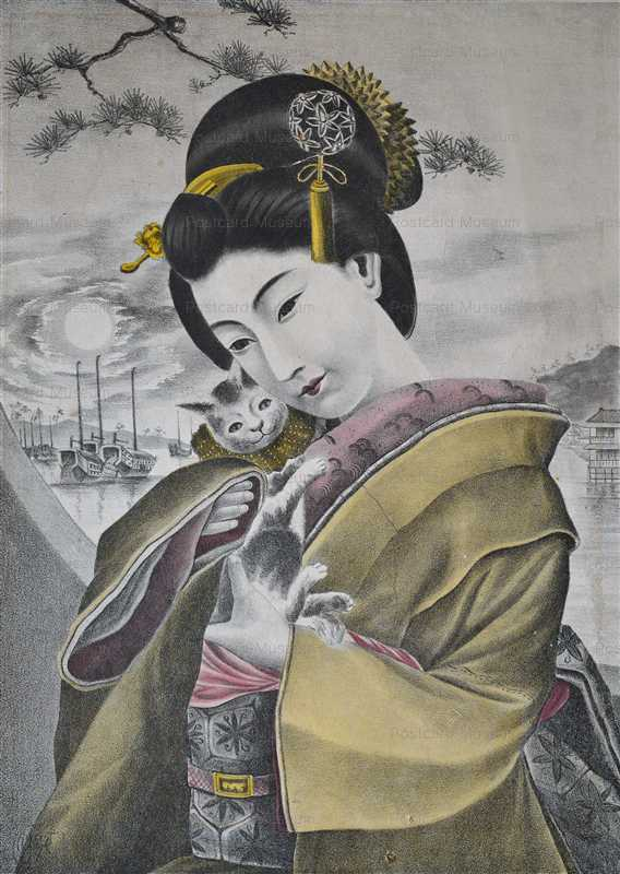 uzo580-猫抱く美人