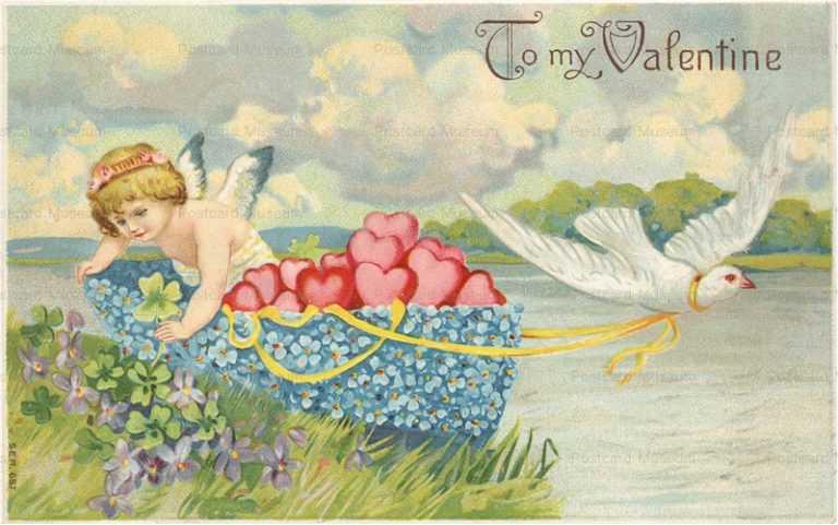 v228-Valentine Dutch Scotch Cupids
