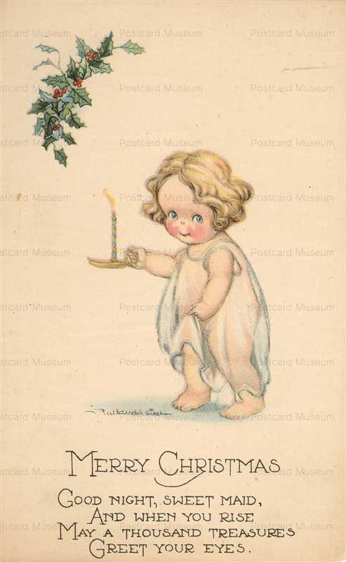 xm130-Ruth Welch Siver Kewpie Christmas