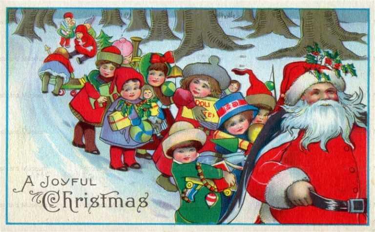 xm413-Joyful Xmas Santa