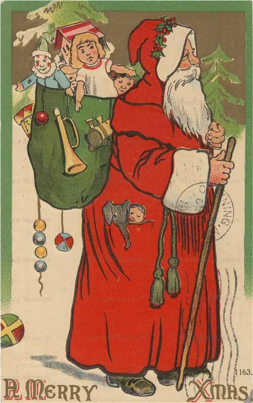 xm480-Merry Xmas Santa Toy