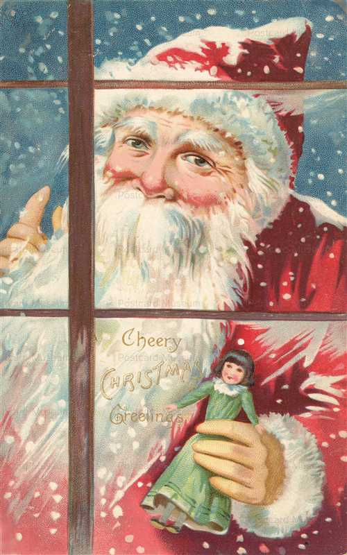 xm530-Santa Claus with Doll