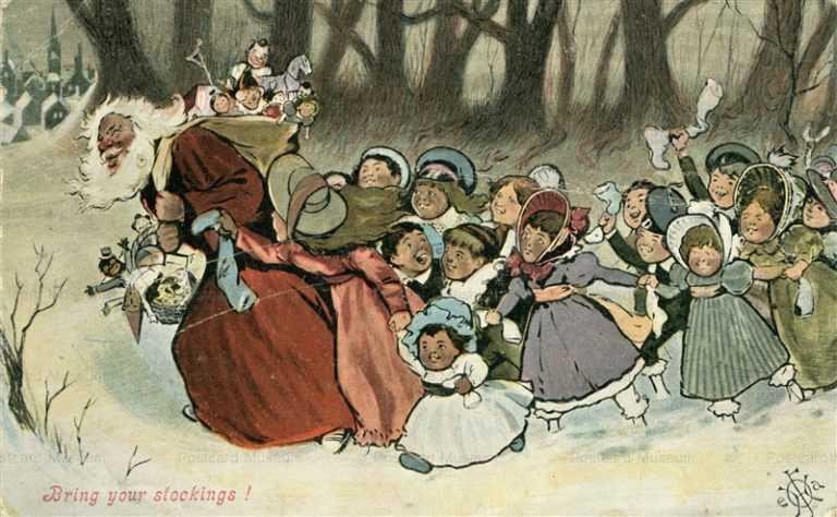 xm560-Santa Claus and Children