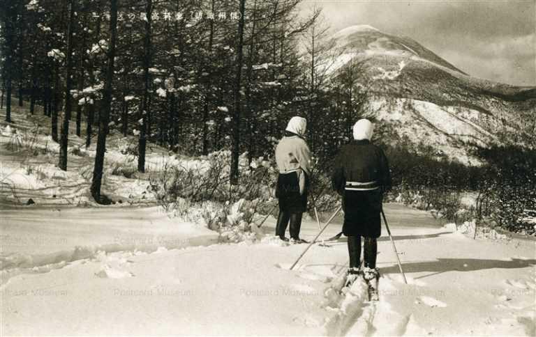 yt1390-Tateshina ski Shinsyu Suwa 蓼科高原のスキー 信州諏訪 長野