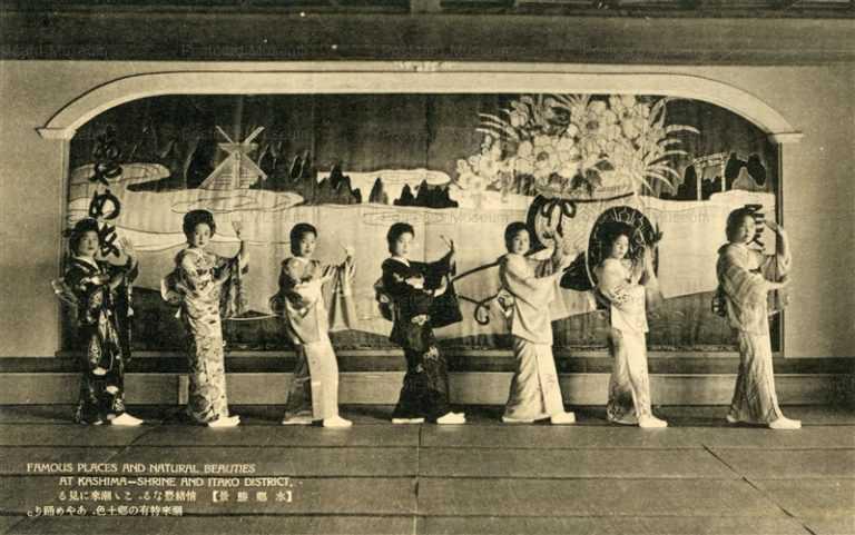 ll1250-Kashima-Shrine Itako Ibaraki 情緒豊なる ここ潮来に見る潮来特有の郷土色 あやめ踊り 水郷 茨城