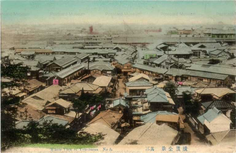yb185-Whole view of Yokohama 3 横浜全景其三