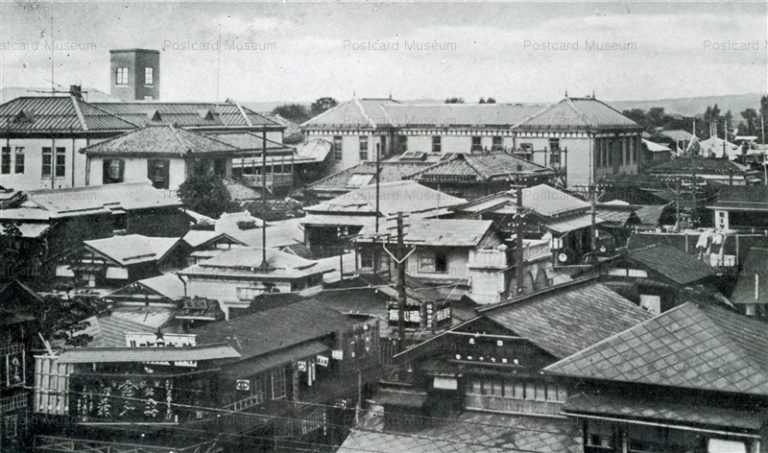 er170-City Akita 秋田市街の一部 秋田