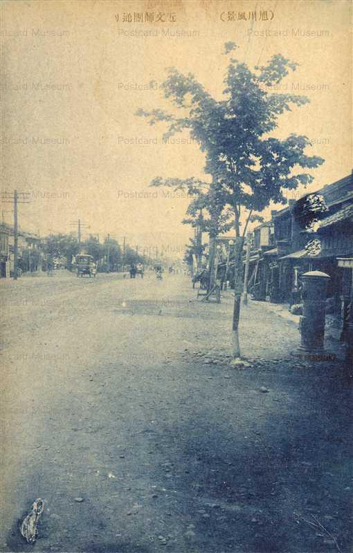 ha493-Chikabumi Shidandori Asahikawa 近文師団通り 旭川風景