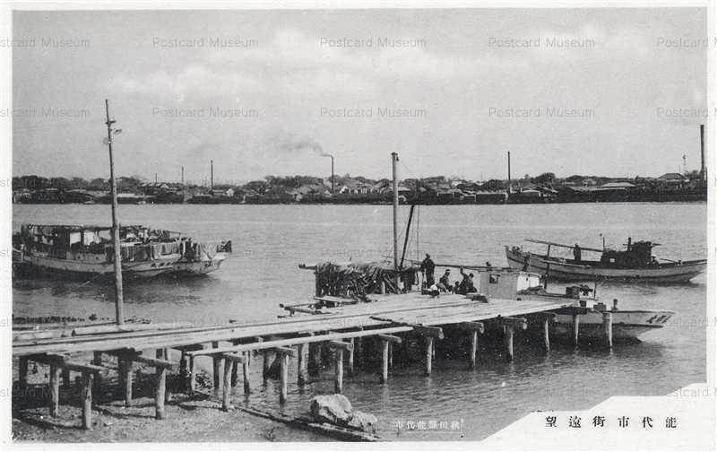 er1480-Noshiro Akita 能代市街遠望 秋田