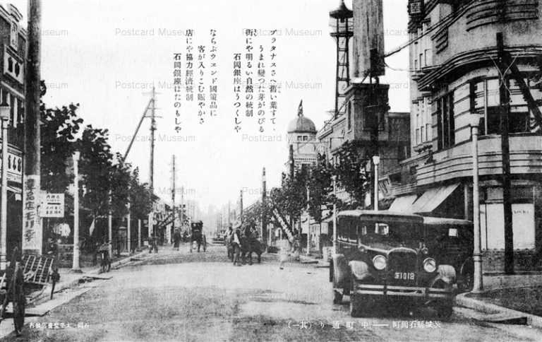 ll890-Nakamachi street Ishiokamachi Ibaraki 中町通り 石岡町 茨城