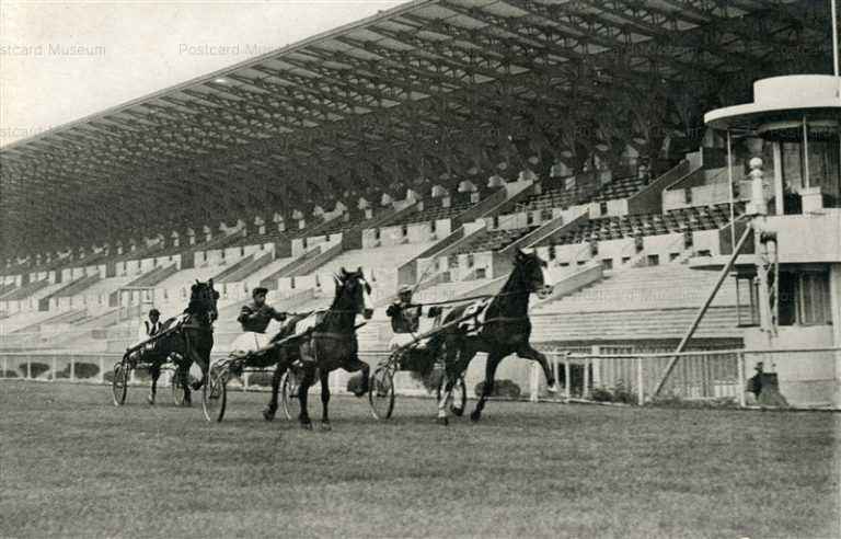 kfb055-Kyoto Raceconcourse 日本競馬会 京都競馬場 竣工紀念
