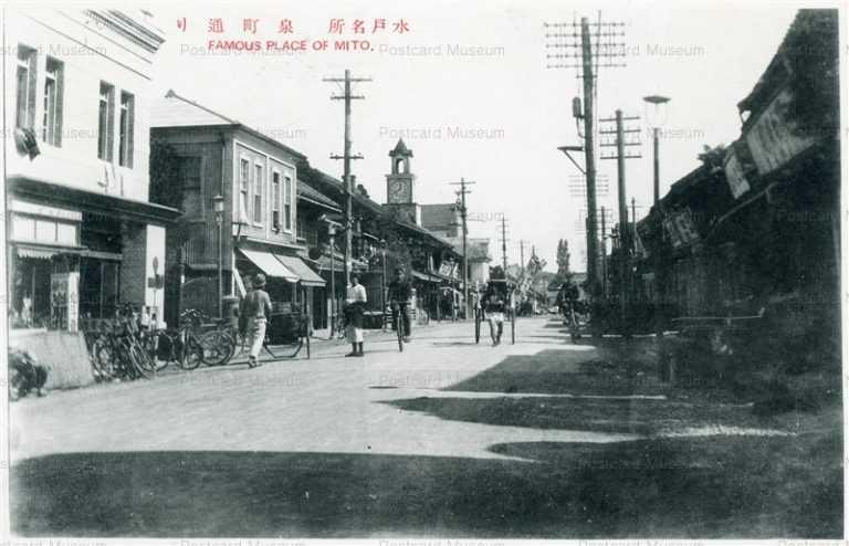 ll040-Izumicho street Mito Ibaraki 泉町通り 水戸 茨城