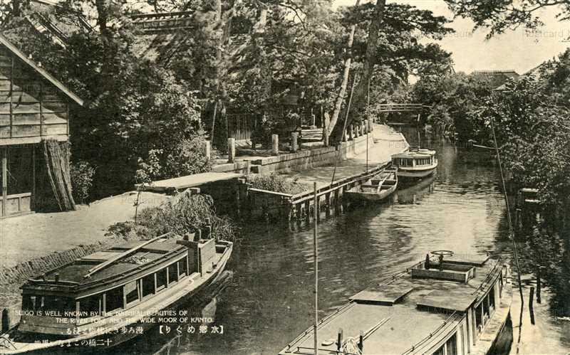 ll1215-Suigo natural beauties River Tone Ibaraki 漫ろ歩きに恍惚と浸る 十二橋のこよない風趣 茨城