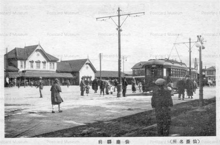 se032-Sendai Station 仙臺駅前 仙臺名所